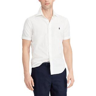 Chemise en chambray à coupe classique pour hommes