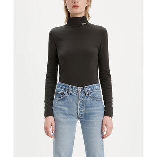 Women's Knit Turtleneck Top