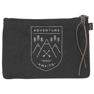 Adventure Awaits Small Cosmetic Bag