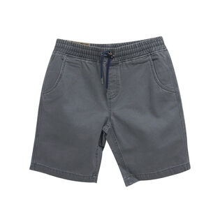 Junior Boys' [8-16] Twill Pull-On Short