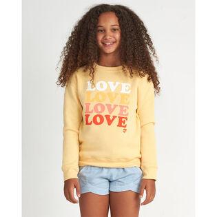 Junior Girls' [7-14] So Much Love Sweatshirt