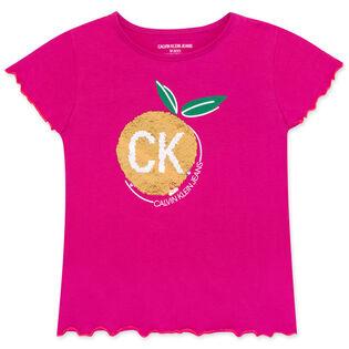 Junior Girls' [8-16] Sequin Fruit T-Shirt