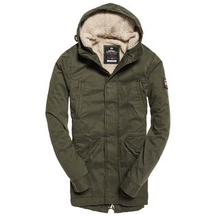 Men's Military Parka Jacket