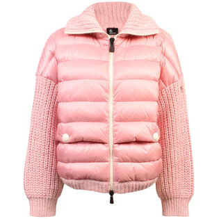 Women's Knit Padded Jacket