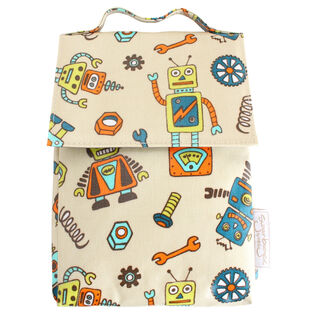 Retro Robot™ Lunch Sack