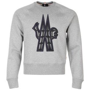 Men's Macro Logo Crew Sweatshirt