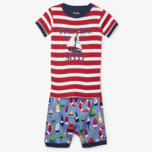Boys' [2-7] Distressed Buoys Two-Piece Pajama Set