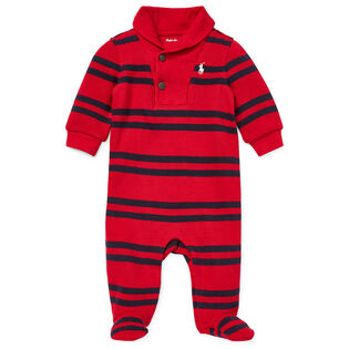 Baby Boys' [3-9M] Shawl French Rib One-Piece Coverall