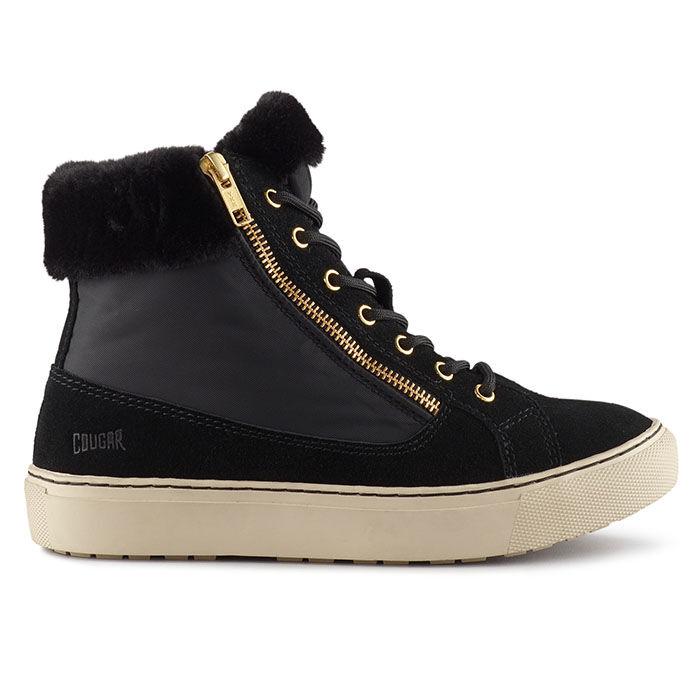 Women's Dublin Suede Hi-Top Sneaker