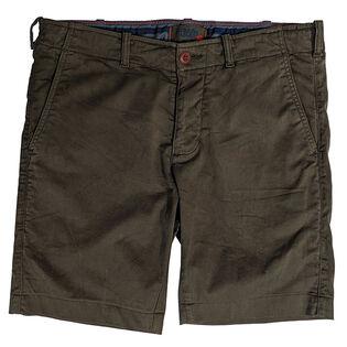 Men's Flat Front Chino Short