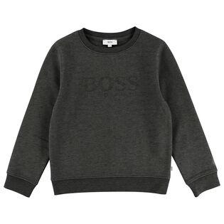 Junior Boys' [4-16] Embroidered Logo Sweatshirt