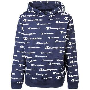 Juniors' [7-16] Script Logo Pullover Hoodie
