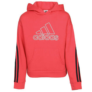 Junior Girls' [8-16] Stripe Hoodie