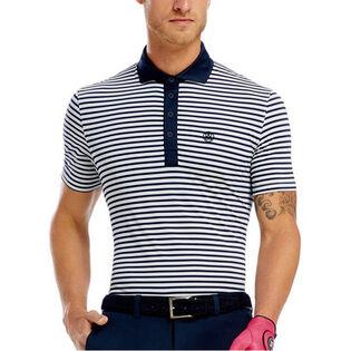 Men's Perf Stripe Polo