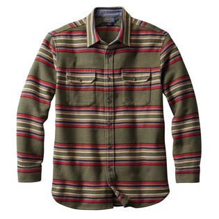 Men's Blanket Stripe Overshirt