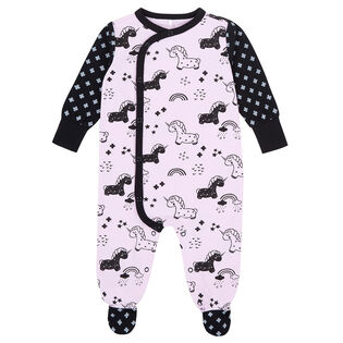 Baby Girls' [3-18M] Unicorns Organic Cotton Pajama