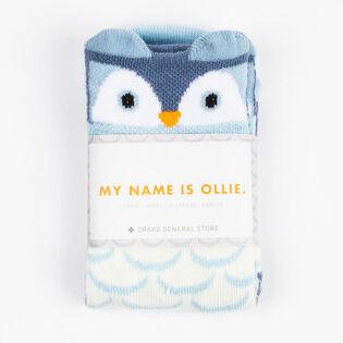 Kids' [12M-5Y] Arborist Ollie Owl Sock