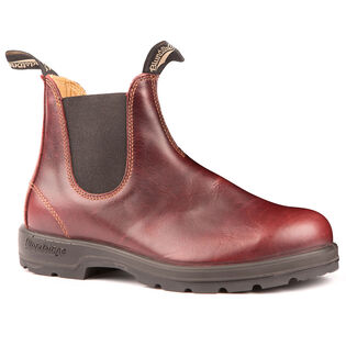 #1440 The Leather Lined Boot In Redwood