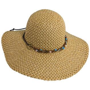 Women's Beaded Floppy Hat