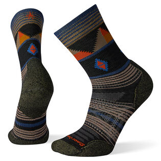 Men's PhD® Outdoor Light Pattern Hiking Crew Sock