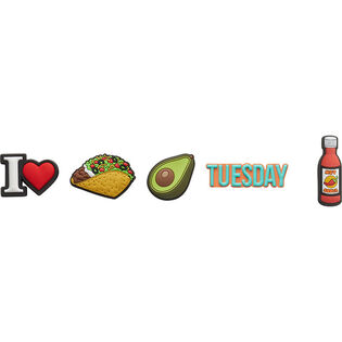 Taco Tuesday Jibbitz™ Charm (5 Pack)