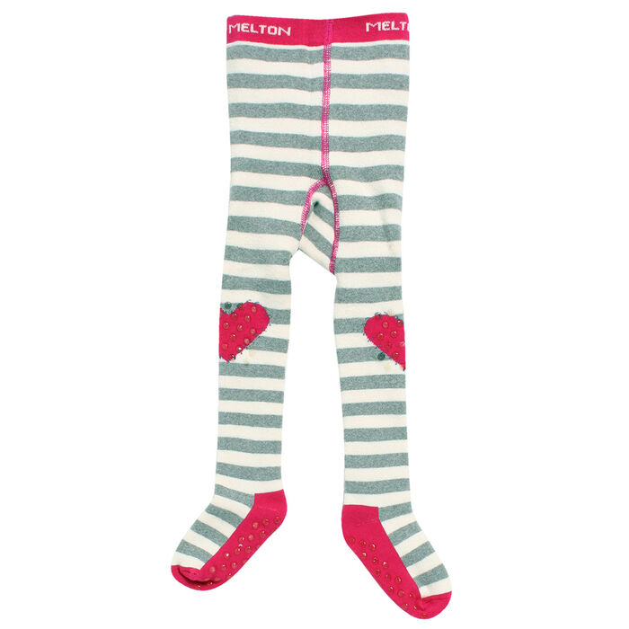 Girl's [6-12M] Striped Tights