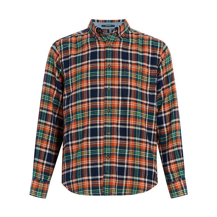 Chemise à carreaux en flanelle Trout Run pour hommes