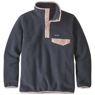 Junior Girls' [7-16] Lightweight Synchilla® Snap-T® Fleece Pullover Top
