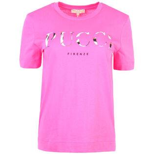 Women's Burle Logo Printed T-Shirt