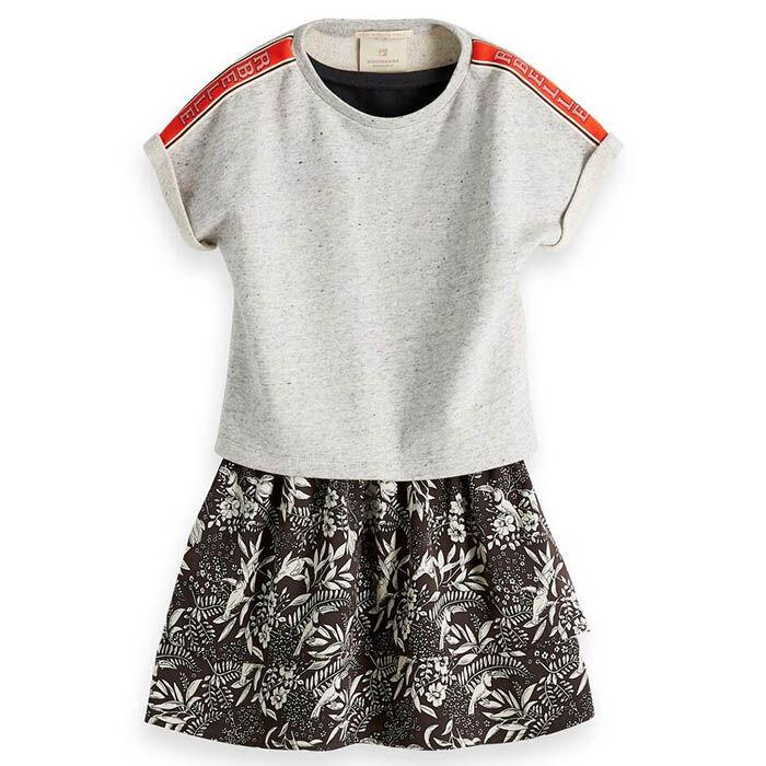 Junior Girls' [8-16] 2-In-1 Sweater Dress