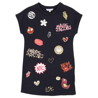 Girls' [4-5] Patch Dress
