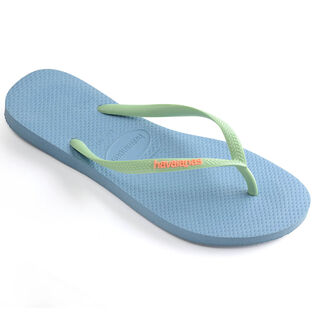 Women's Slim Logo Pop-Up Flip Flop Sandal