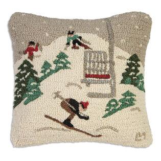 Single Chair Ski Lift Pillow