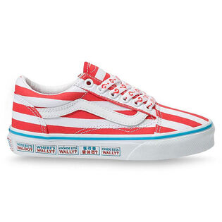 Kids' [11-3] Where's Waldo? Old Skool Shoe