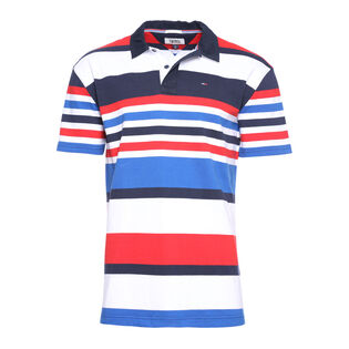Men's Short Sleeve Rugby Polo