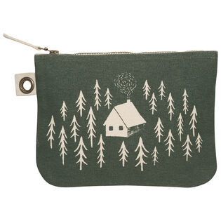Retreat Large Zipper Pouch