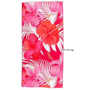 Serviette de plage Pink Hibiscus