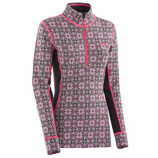 Women's Rose 1/2 Zip Top