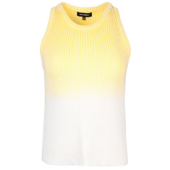 Women's Cotton Shaker Sweater Tank
