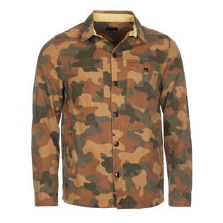 Men's Camouflage Button Through Overshirt