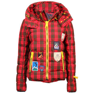 Women's Tartan Quilted Jacket