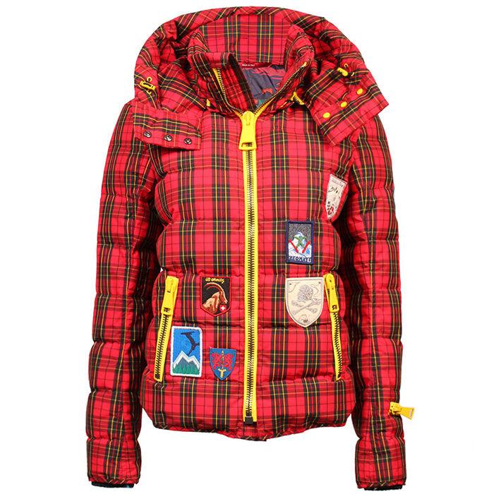 Women's Tartan Quilted Jacket