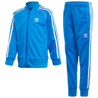 Boys' [4-7] Trefoil SST Two-Piece Track Suit