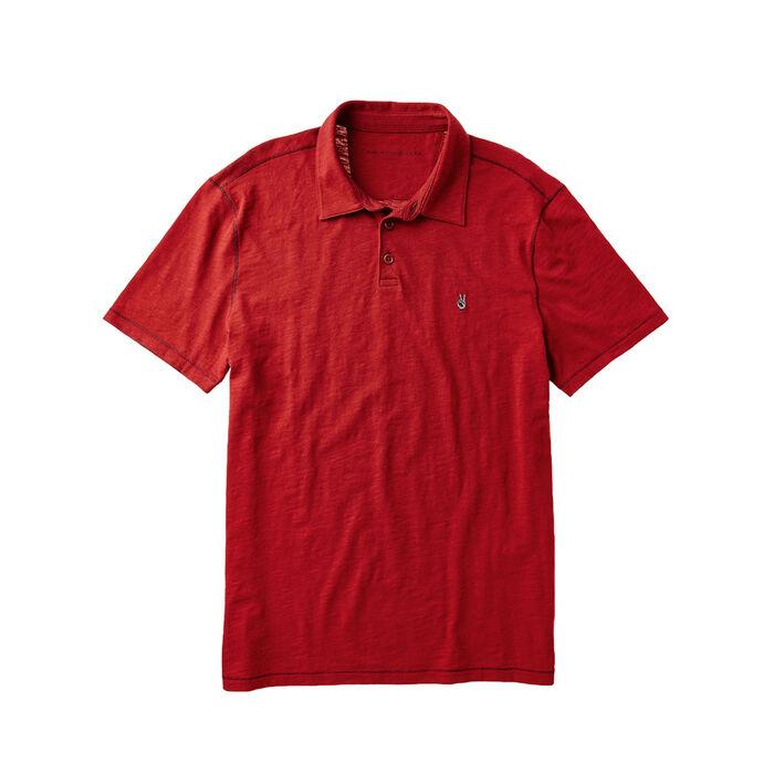 Men's Peace Sign Polo T-Shirt