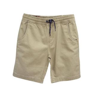 Junior Boys' [8-16] Twill Pull-On Short