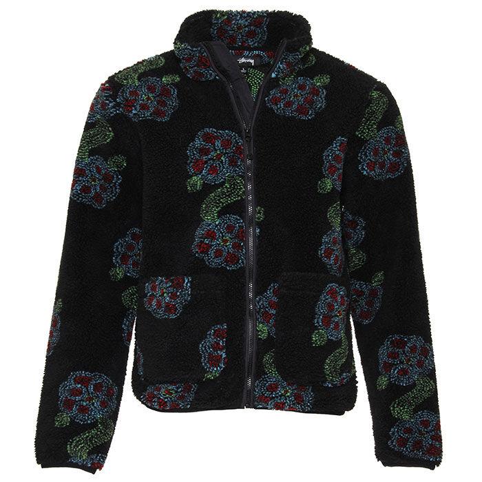 Men's Flor Sherpa Mock Neck Jacket