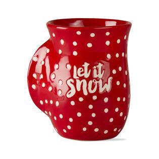 TASSE CHAUFFE-MAINS LET IT SNOW