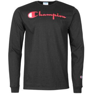 Men's Mixed Logo Long Sleeve T-Shirt