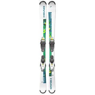 Juniors' Souphead SLR Pro Ski + SLR 4.5 GW AC Binding [2021]