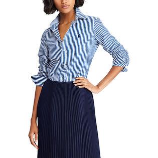 Women's Slim Stretch Fit Striped Shirt